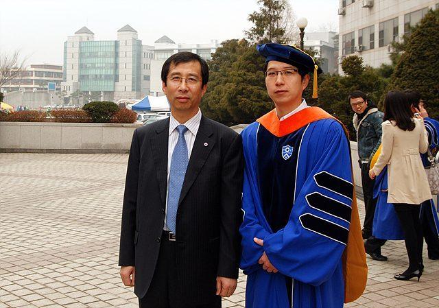 2010년 2월 졸업식