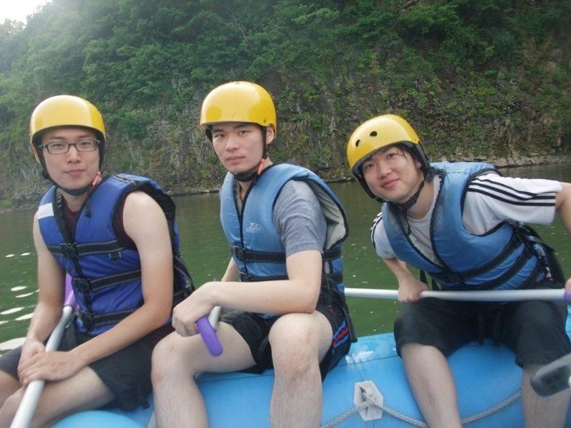 2010년 7월 여름엠티 한탄강 순담계곡 래프팅