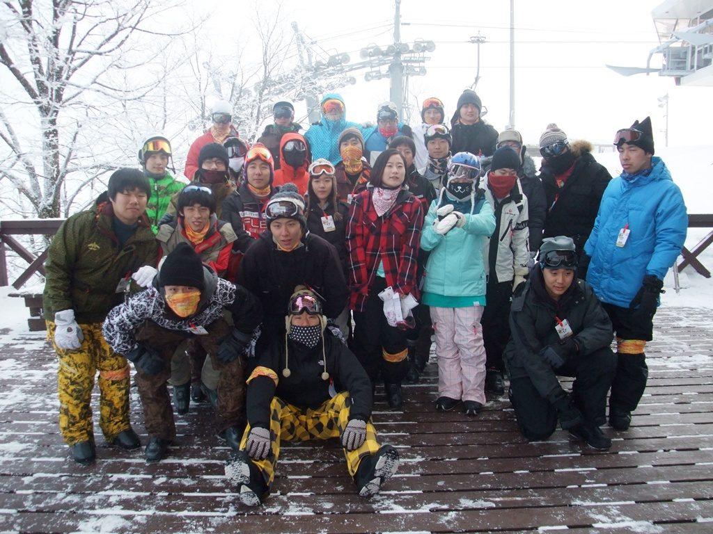 2013년 겨울 엠티 사진